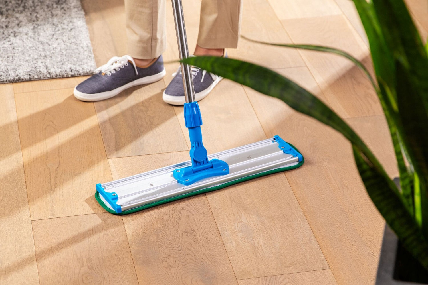 20 Inch Shown-Green 24 Inch color coded microfiber wet mop pads for laminate floors MWMCC26