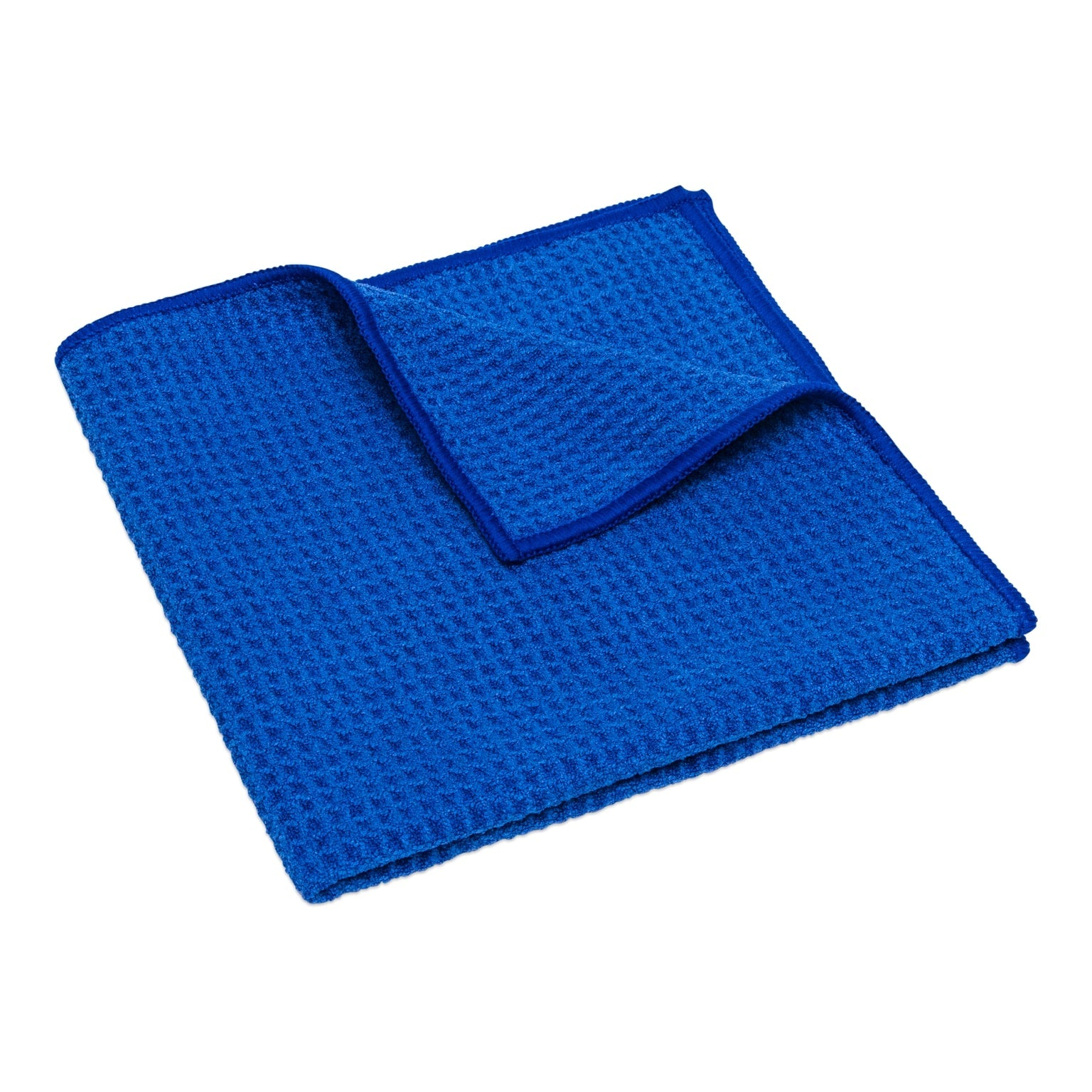 Blue Waffle Weave Dish Towels Wholesale