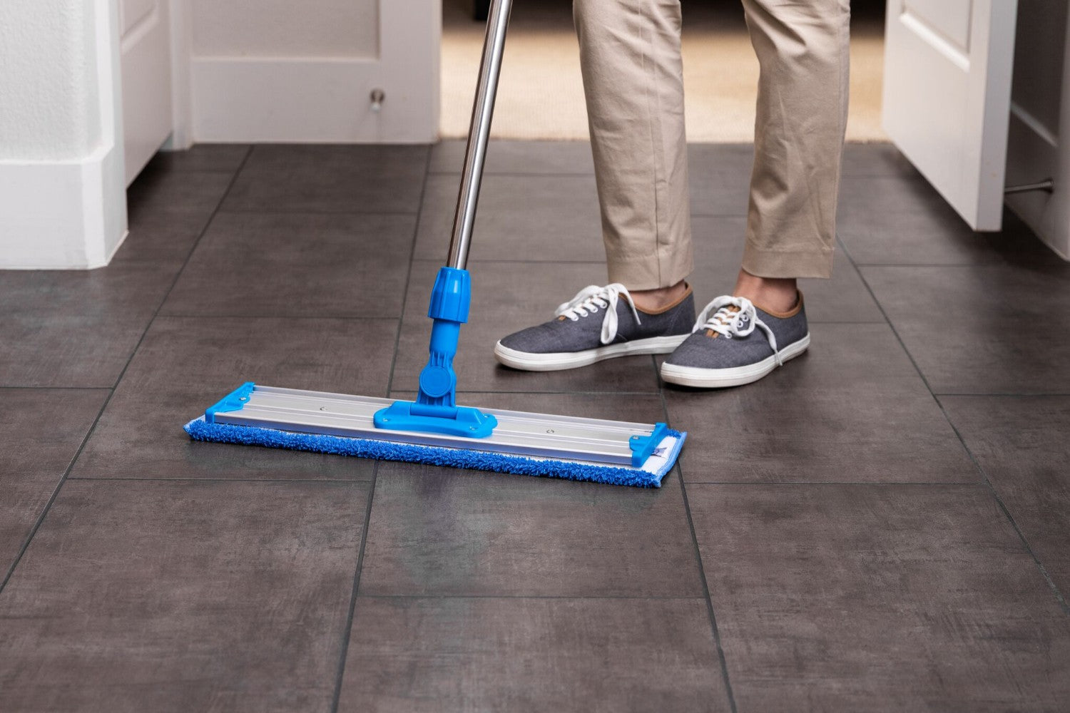 PMWM20-20 inch premium microfiber wet mop pads for tile floors