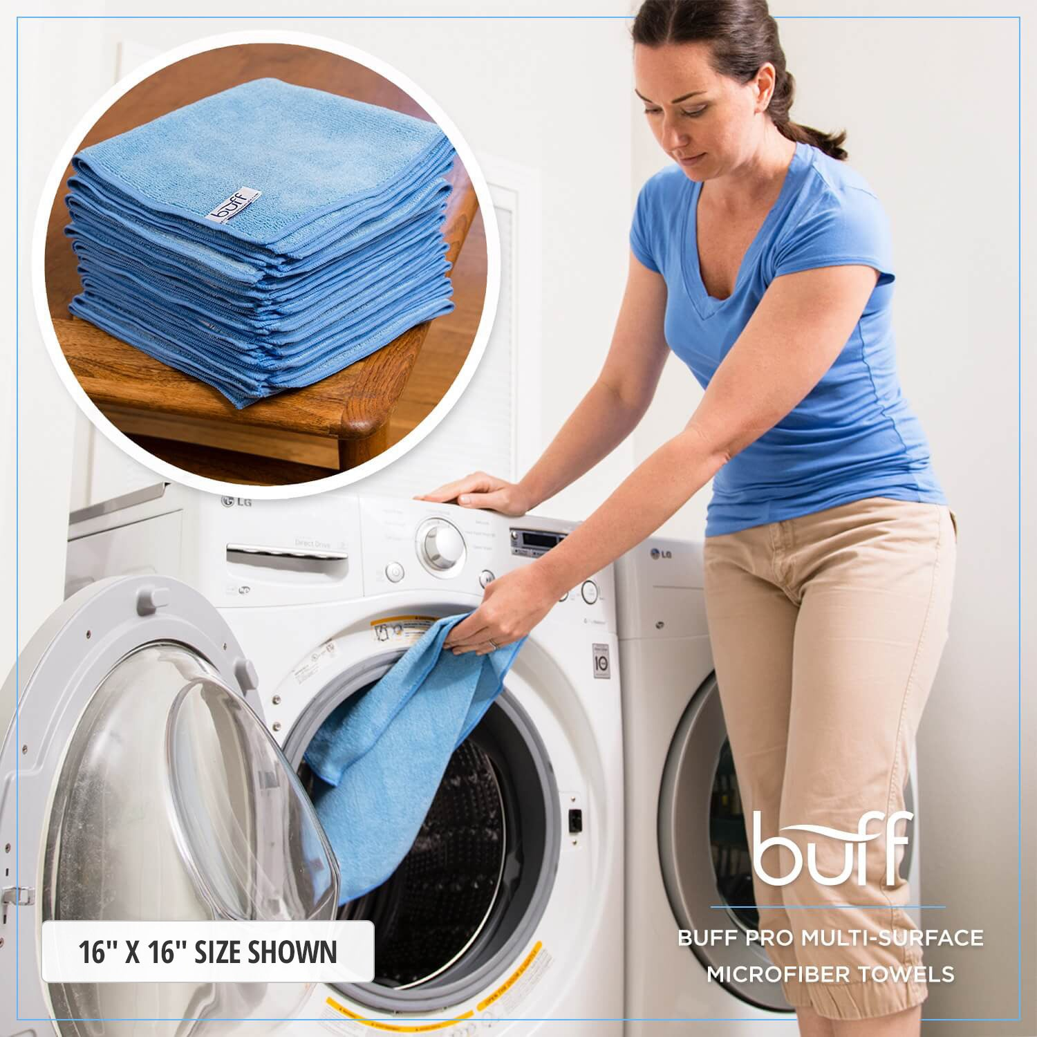Microfiber Reusable Cleaning Cloths