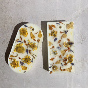 Sunflower Soy Wax Tablet
