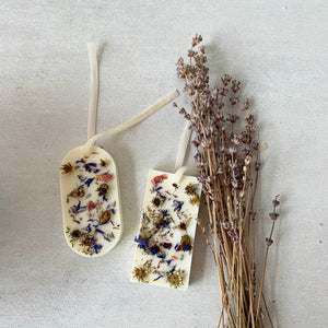 Lavender Botanical Soy Wax Tablet