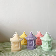 Load image into Gallery viewer, Carousel merry-go-round Shape Candles  │ Kawaii Candle