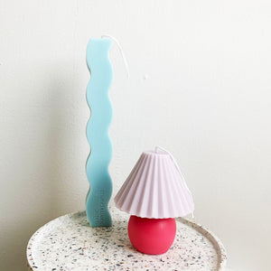 Color Shade Table Lamp Candle  │ Kawaii Candle