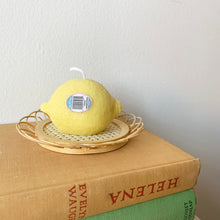 Load image into Gallery viewer, Lemon shaped Candle │ Kawaii Candle