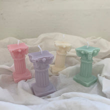 Load image into Gallery viewer, Roman pillar Shape Candle │ Kawaii Candle
