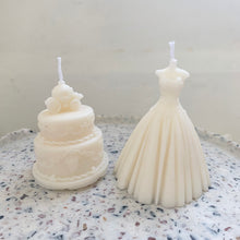 Load image into Gallery viewer, Bride & Wedding Shaped Soy Wax Candle │ Kawaii Candle │ Yui Brooklyn
