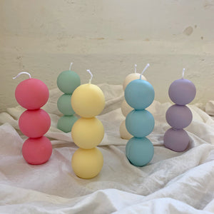 Skewers dumpling Shaped Soy Wax Candle │ Kawaii Candle │ Yui Brooklyn