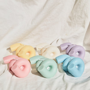 Coil Shaped Soy Wax Candle │ Kawaii Candle