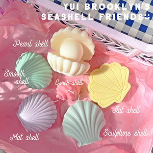 Color Shell Scented Soy Wax Shape Candle  │ Kawaii Candle
