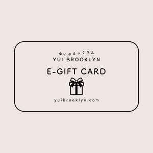 Yui Brooklyn E-Gift Card