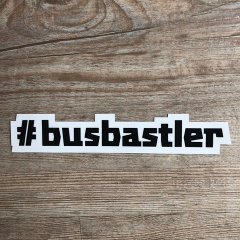 #busbastler Sticker