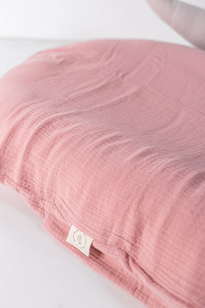 Baby Lounger + Dusty Pink Slip-on-cover