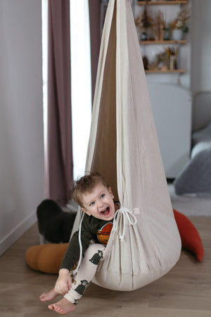 Cocoon Swing | Natural Linen