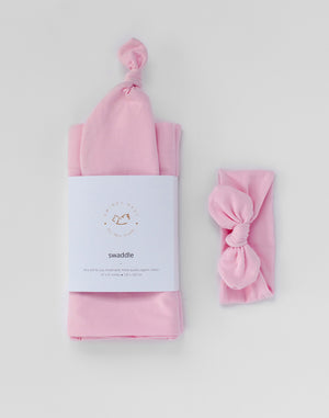 Stretchy Swaddle | Sugar Plum