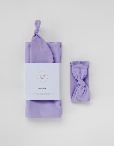 Stretchy Swaddle | Lavender