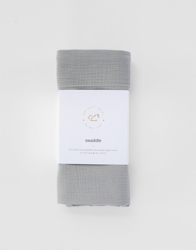 baby swaddle, natural cotton baby swaddle, newborn swaddle, babyshower gift, baby shower gift, gift for expecting parents, gift for expecting mother, gauze muslin newborn swaddle, newborn swaddle, light grey muslin swaddle, extra large muslin swaddle, extra large baby swaddle, natural cotton swaddle, organic muslin swaddle, organic cotton newborn swaddle, beautiful baby swaddle, beautiful newborn swaddle, organic gauze muslin swaddle, double gauze muslin swaddle