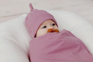 Stretchy Swaddle | Mellow Mauve