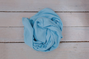 Stretchy Swaddle | Powder Blue