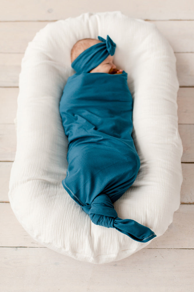 Stretchy Swaddle | Aquamarine