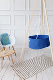 Hanging Baby Cradle | Powder Blue