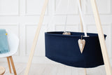 Hanging Baby Cradle | Navy Blue