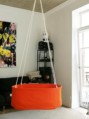 Hanging Baby Cradle | Orange