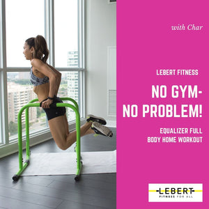 No Gym - No Problem EQualizer Full Body Workout with Char