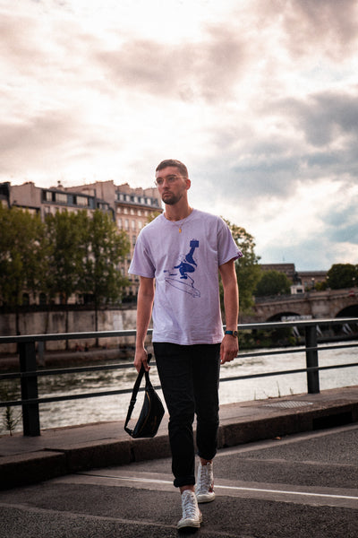 T-SHIRT LAVAND | Notic x Vulvacard
