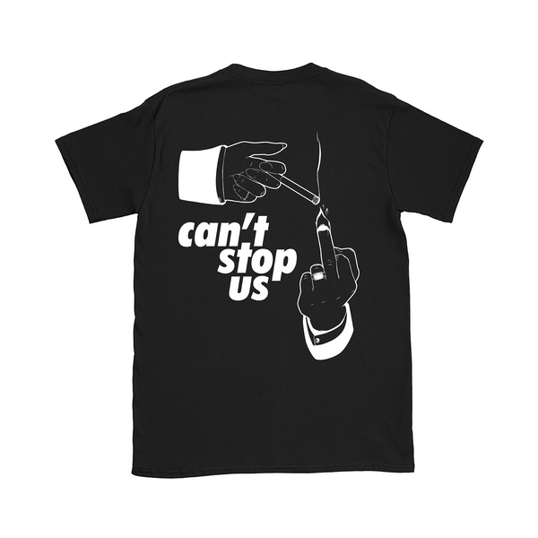 T-SHIRT CAN'T STOP US NOIR