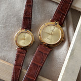 Vintage: Cadali Halcyon in Gold/Brown