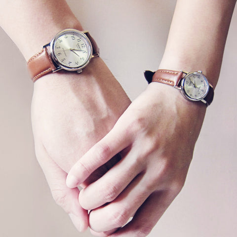 Casio Chiffer in Silver - Couple