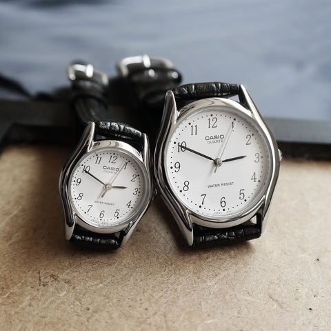 Casio Curio in Silver - Couple