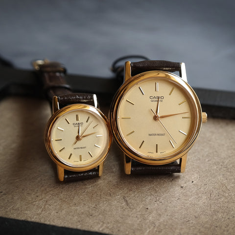 Casio Stark in Pale Gold - Couple