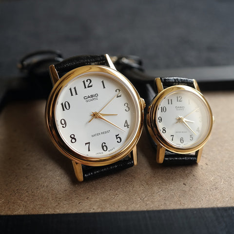 Casio Chiffer in White - Couple