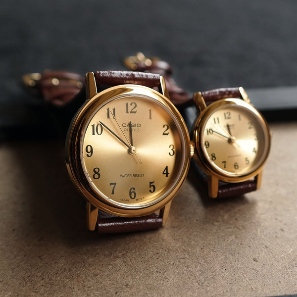 Casio Chiffer in Molten Gold - Couple