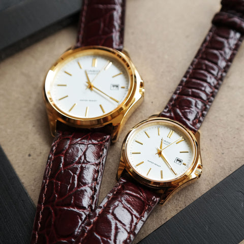 Casio Maestro in White - Couple