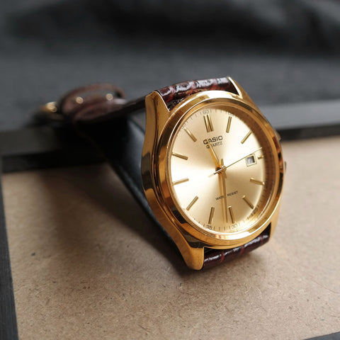 Casio Maestro in Gold - His