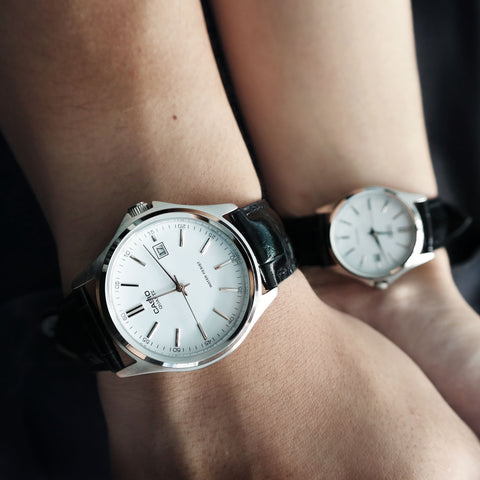 Casio Maestro in Silver - Couple