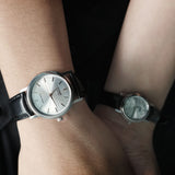 Casio Chaste in Silver - Couple
