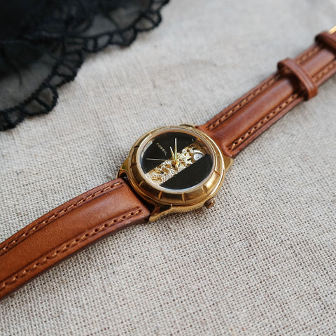 Vintage: Fossil Regalia in Brown