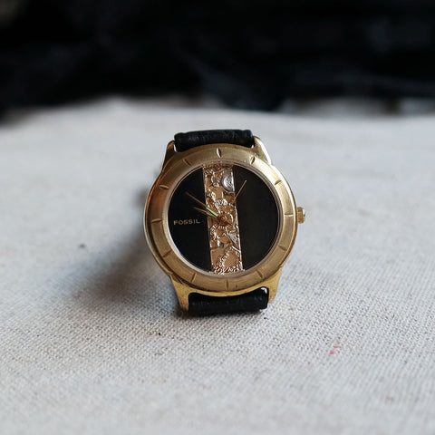 Vintage: Fossil Regalia in Black
