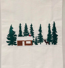 Load image into Gallery viewer, Cabin in the Snowy Woods