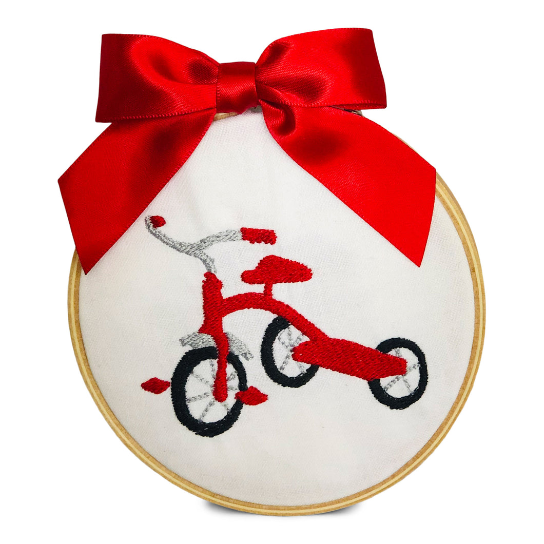 Ornament - Red Tricycle