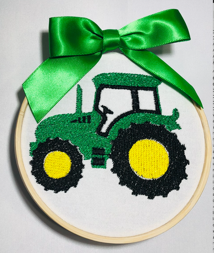 Ornament - Green Tractor