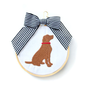 Ornament - Dog in Red Collar
