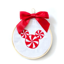 Load image into Gallery viewer, Ornament - Mickey Peppermints