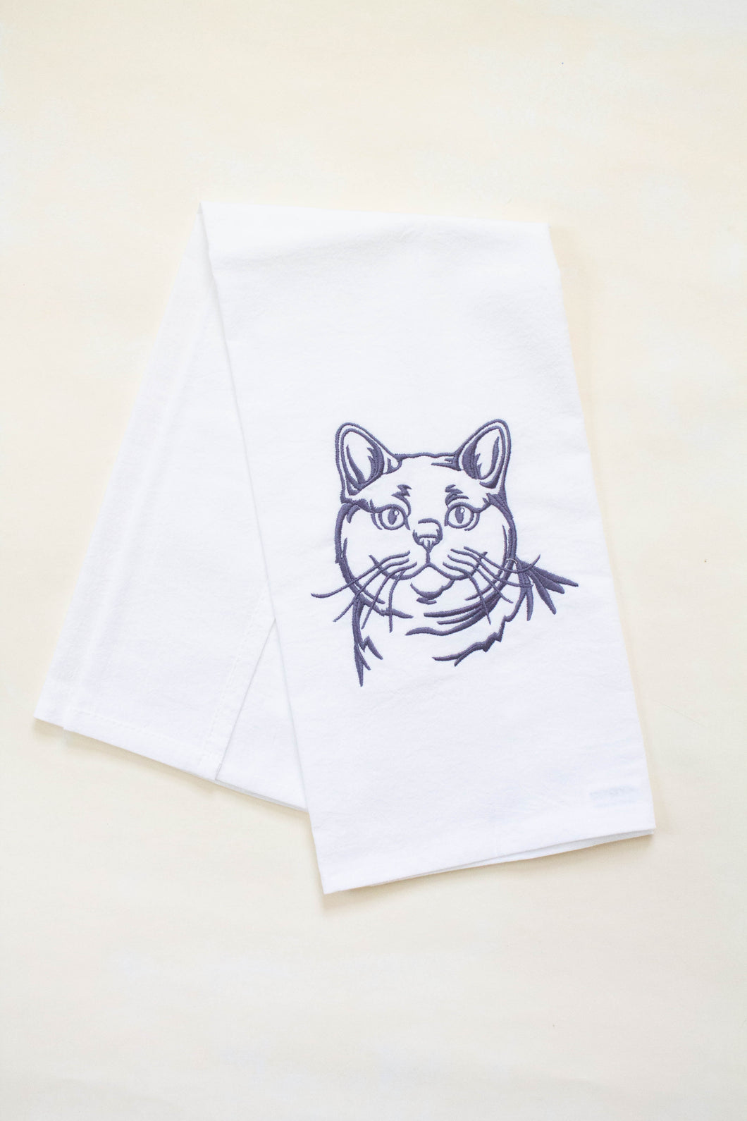 Cat Dish Towel