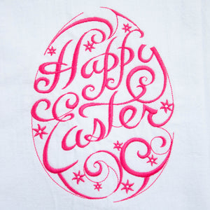 Happy Easter Spring Dish Towel