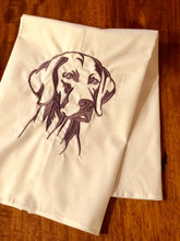 Load image into Gallery viewer, Weimeraner Dog Towel